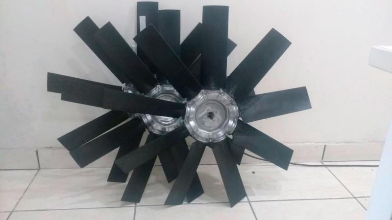 Fabricante de exaustor axial